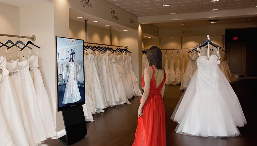 Virtual Fitting Room Mirror,Virtual dressing mirror,virtual mirror,fashion mirror